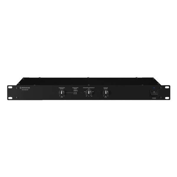 Monacor MCX-200/SW Stereo Crossover Network, Front