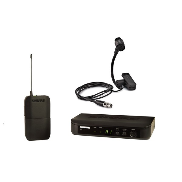 Shure BLX14UK/P98H-K3E Wireless Instrument System with PGA98H
