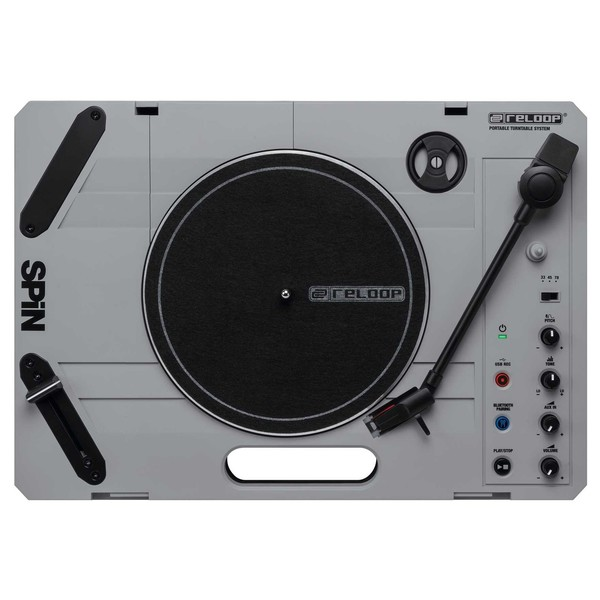 Reloop SPIN Portable Scratch Turntable - Top