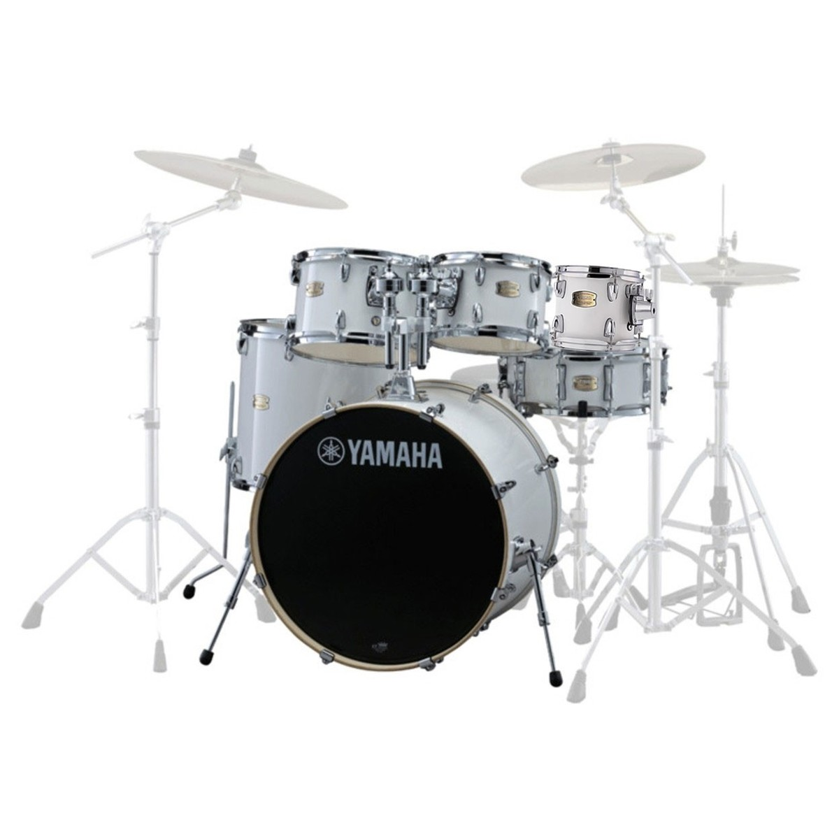 Click to view product details and reviews for Yamaha Stage Custom Birch 22 6pc Shell Pack Pure White.