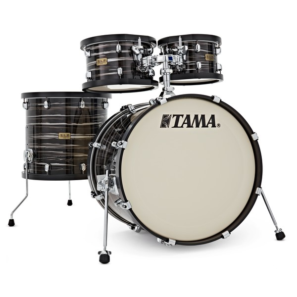 "Tama S.L.P Studio Maple 22"" 4pc, Lacquered Charcoal Oyster"