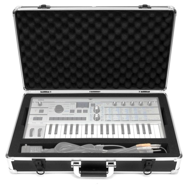 Analog Cases UNISON Case For Korg MicroKorg - Front Open (Synth and cables not included)