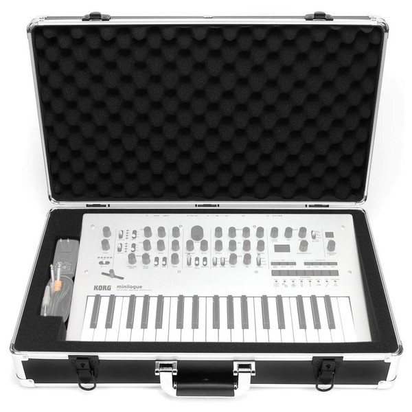 Analog Cases UNISON Case For Korg Minilogue / Minilogue XD - Front Open (Synth and cables not included)