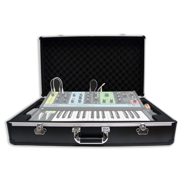 Analog Cases UNISON Case For Moog Grandmother - Front Open (Synth and cables not included)