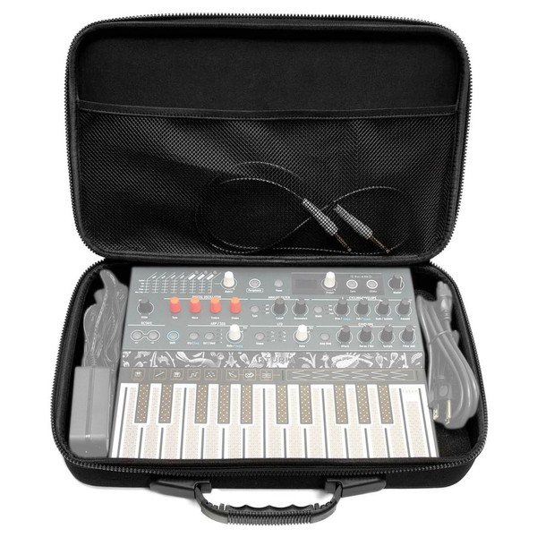 Analog Cases PULSE Case for Arturia MicroFreak and MicroBrute - Front Open (Synth and accessories not included)