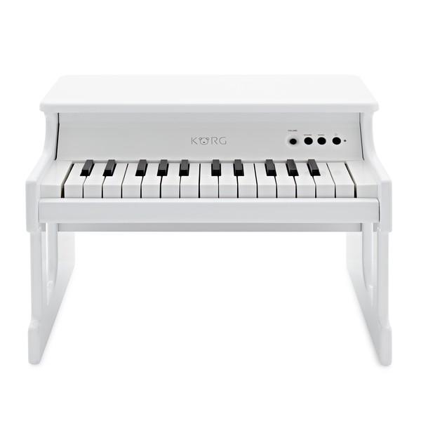 Korg tinyPiano 25 Mini Key Digital Toy Piano, Gloss White