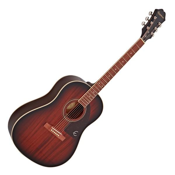 Epiphone AJ-220S Acoustic, Mahogany Burst