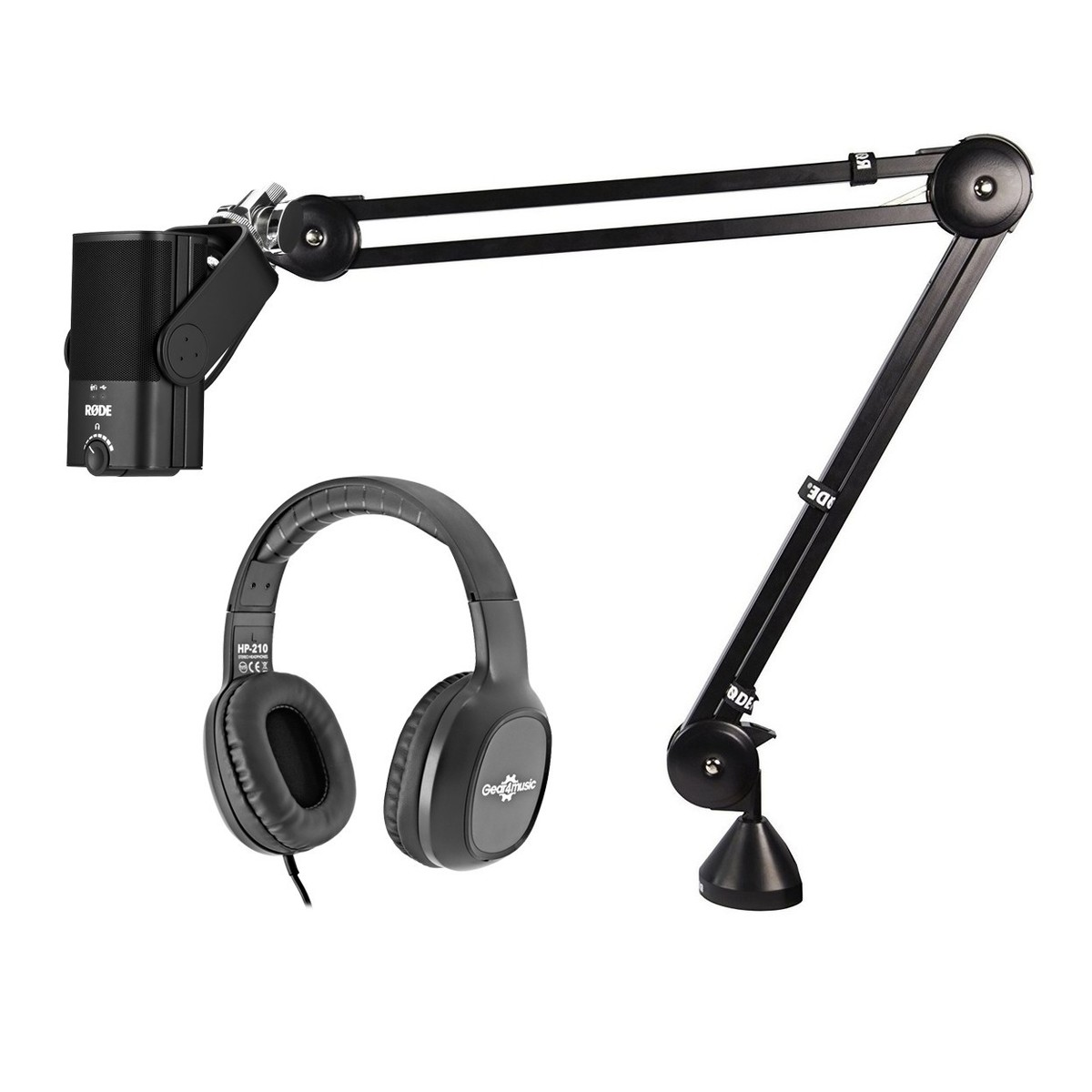 Rode NT USB Mini Microphone with Headphones | Gear4music