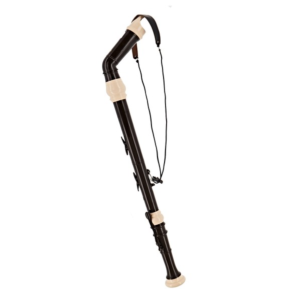Aulos 521Knickstyle Bass Recorder