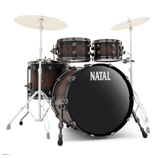 Natal Originals Walnut 22'' 4pc Shell Pack, Vintage Burst