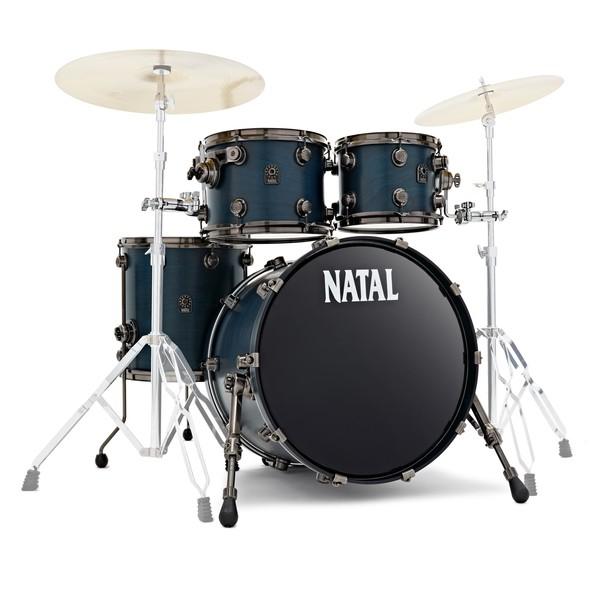 Natal Originals Walnut 20'' 4pc Shell Pack, Cerulean Blue