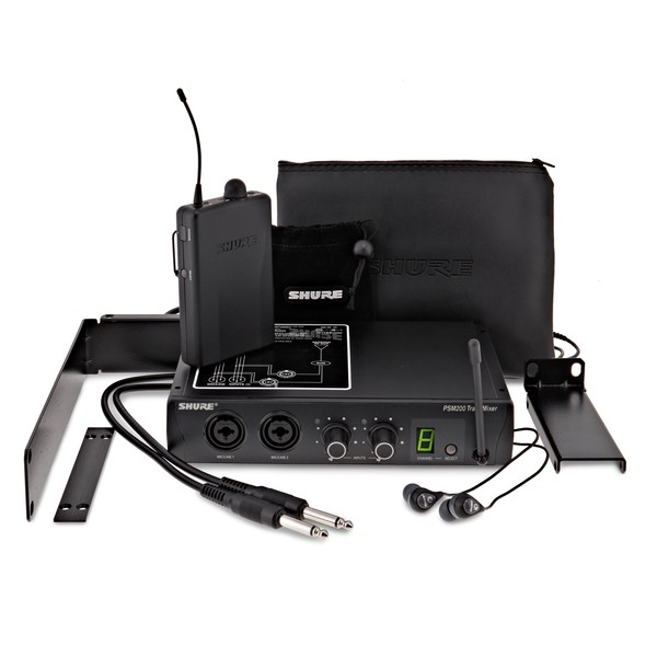 Shure PSM200 Wireless In Ear Monitor System with SE112 Earphones