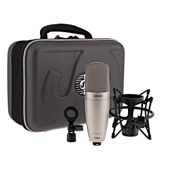 Shure KSM32 Condenser Microphone, Champagne