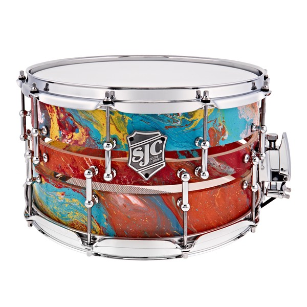 "SJC 'The Hydro Split' 14"" x 6.5"" Custom Snare Drum"