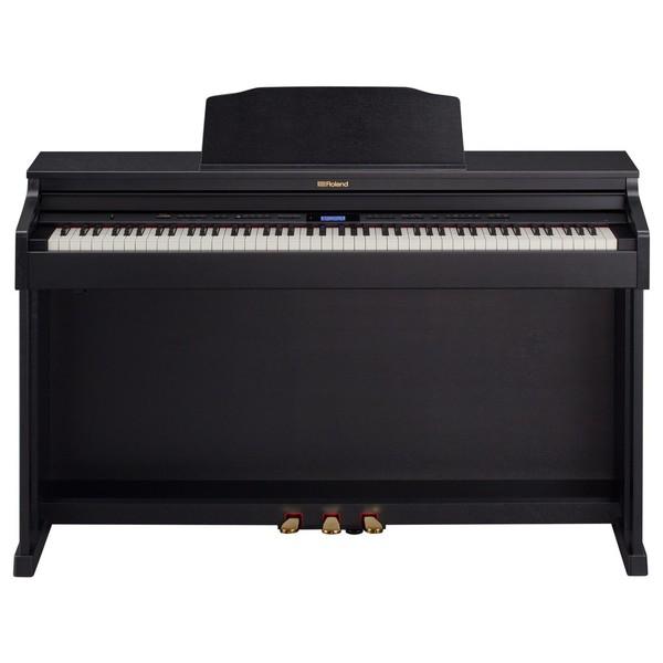 Roland HP601 Digital Piano, Contemporary Black 1
