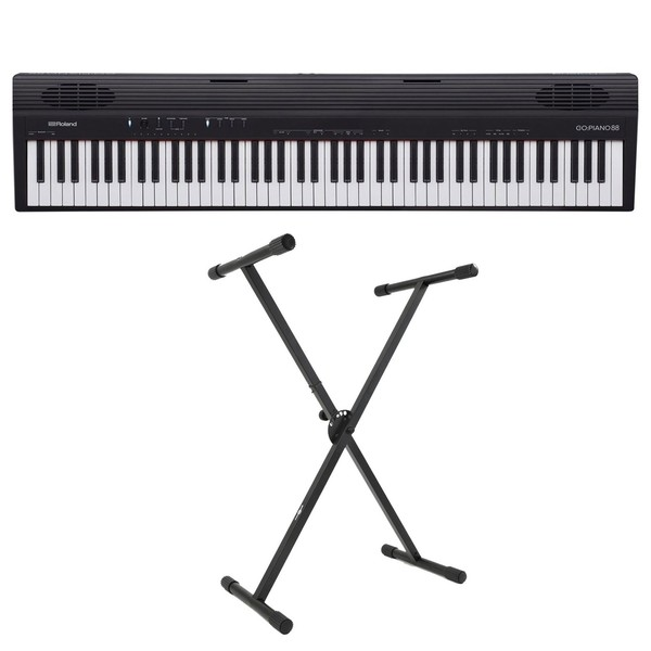 Roland Go:Piano 88 Key Digital Piano with X-Frame Stand
