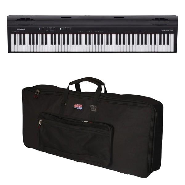Roland Go:Piano 88 Key Digital Piano with Gator Bag