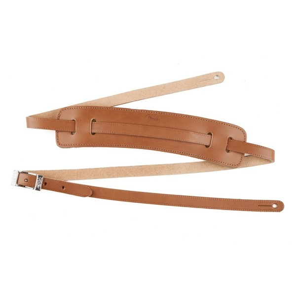 Fender Deluxe Vintage Style Guitar Strap, Natural - main