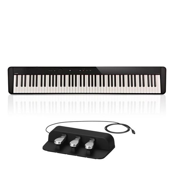 Casio PX S1000 Digital Piano with SP-34 Pedal, Black