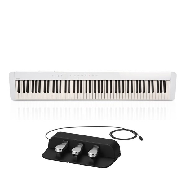 Casio PX S1000 Digital Piano with SP-34 Pedal, White