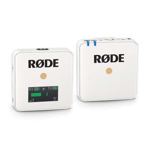 Rode Wireless Go, White - Angled