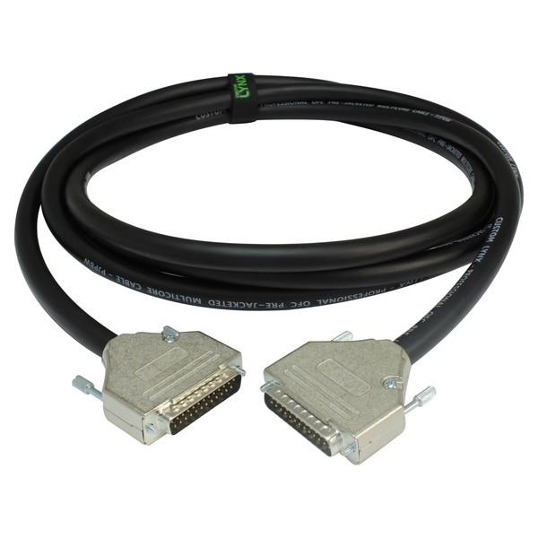 Custom Lynx WLDAD/1 DB25 to DB25 Cable, 1 Metre - Coiled