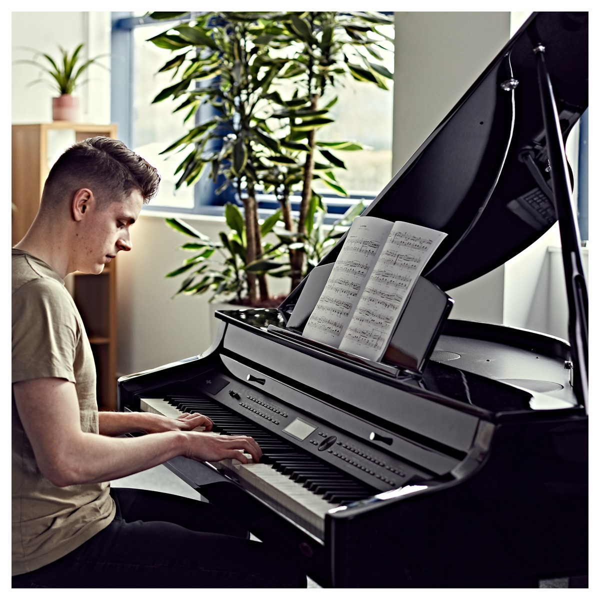 GDP-500 Digital Grand Piano by Gear4music