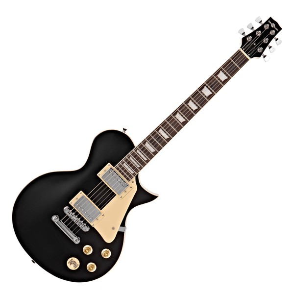 New Jersey Electric Guitar by Gear4music, Black