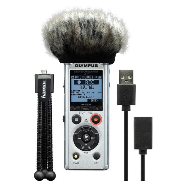 Olympus LS-P1 Podcaster Kit - Full Kit