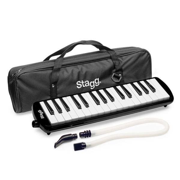 Stagg Melodica, 32 Keys, Black