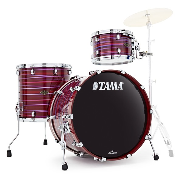 "Tama Starclassic Walnut/Birch 22"" 3pc, Lacquer Phantasm Oyster"