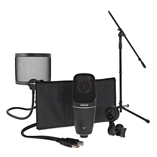 Shure PG27-USB Vocal Recording Pack