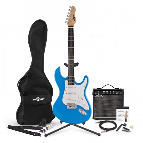 LA Electric Guitar + Complete Pack, Blue