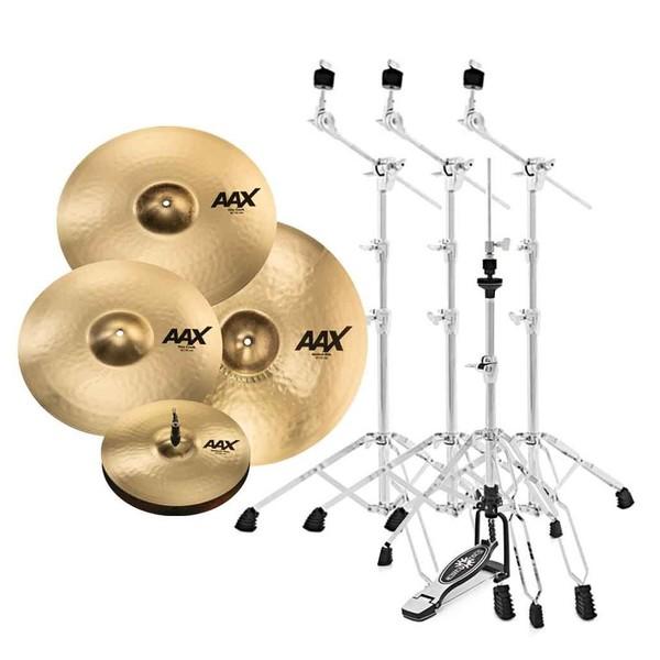 Sabian AAX Promotional Set with Stands
