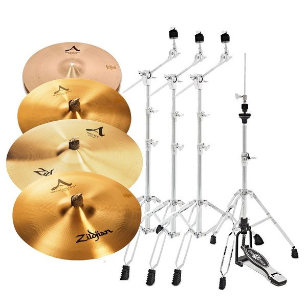 Zildjian A Cymbal Set with Stands
