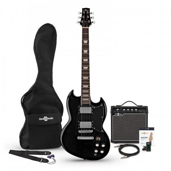 Brooklyn Electric Guitar + Amp Pack, Black
