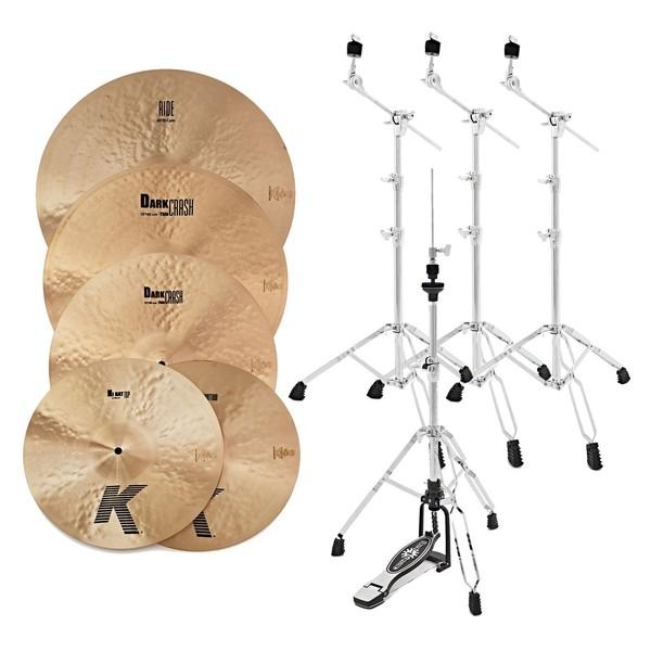 Zildjian K Cymbal Boxset with Stands