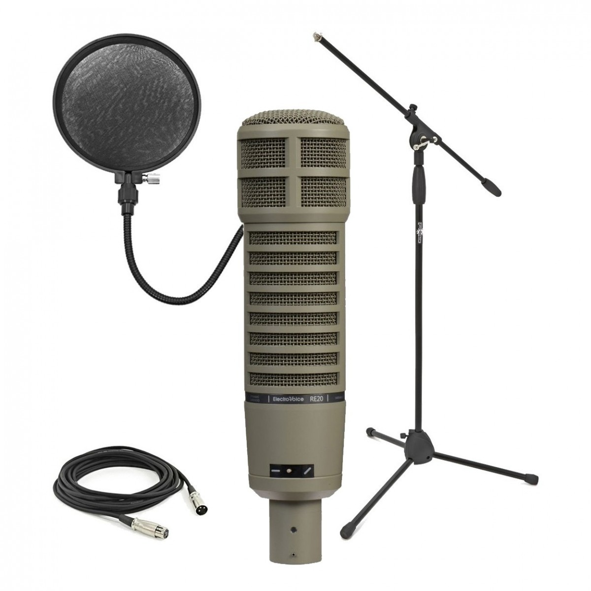 Click to view product details and reviews for Electro Voice Re20 Dynamic Microphone Recording Pack.