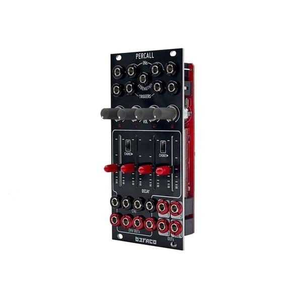 Befaco Percall 4-Channel VCA/Delay Envelope Module