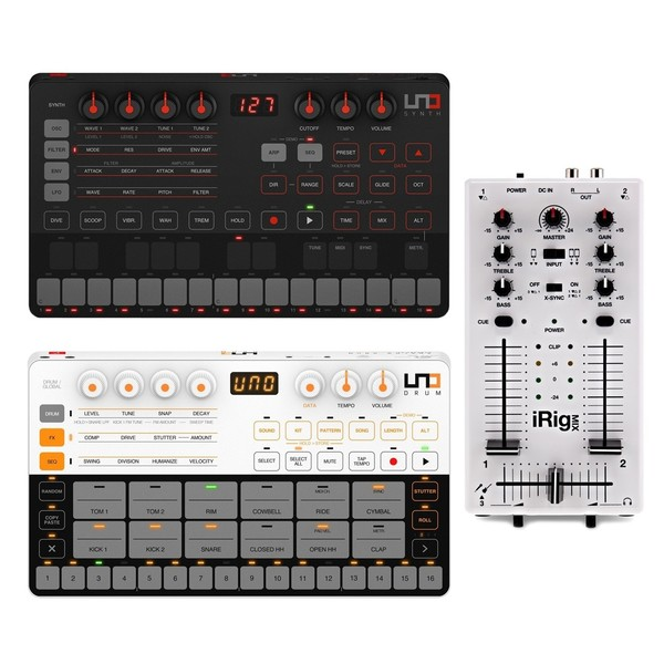 UNO Synth, UNO Drum and iRig Mix Bundle - Full Bundle
