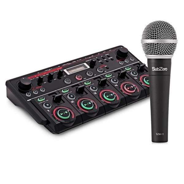Boss RC-505 Loop Station with SubZero Microphone - Full Bundle