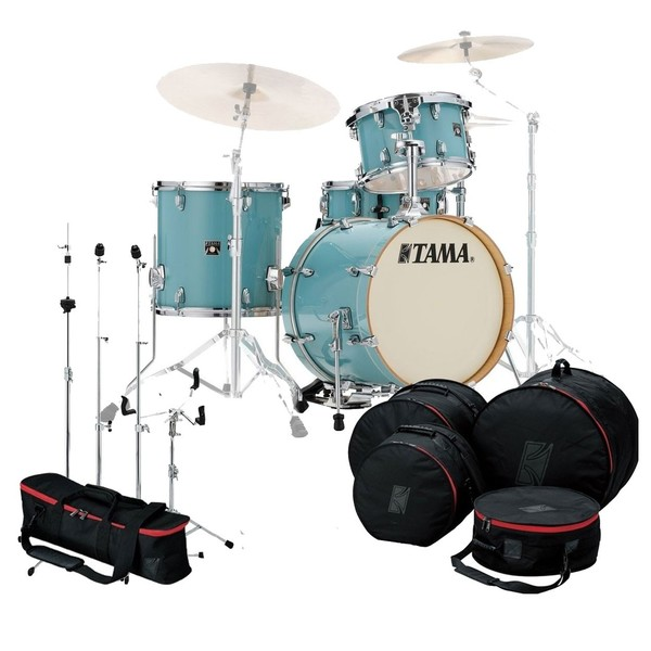 """Tama Superstar Classic 18"""" Gig Pack w/Bags and Hardware, LEBG"""