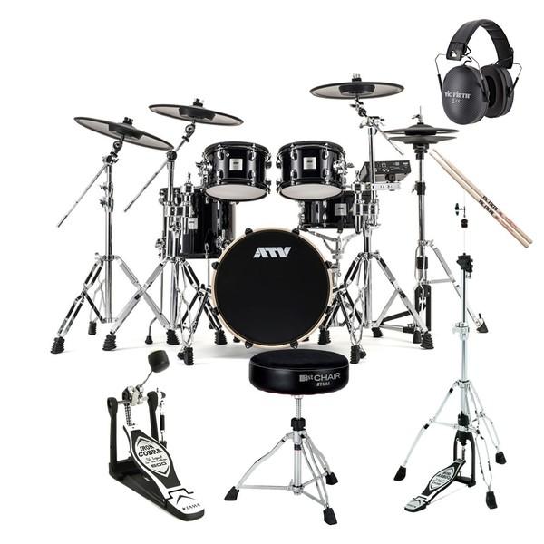 ATV aDrums Artist Expanded Drum Kit Premium Bundle