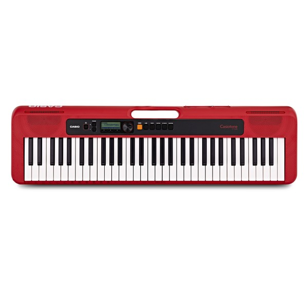 Casio CT S200 Portable Keyboard, Red