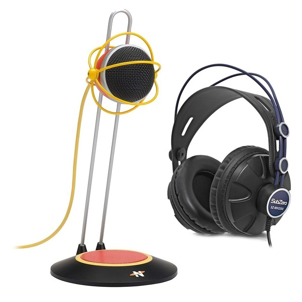 Neat Widget B USB Desktop Microphone with Headphones - Full Bundle