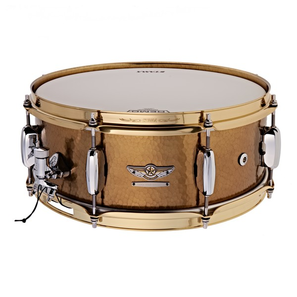 "Tama Star Reserve 14"" x 5.5"" Hand-Hammered Brass Snare Drum"