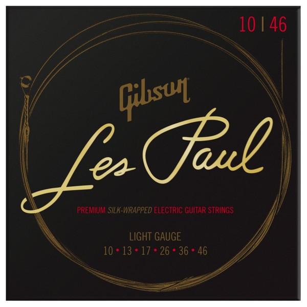 Gibson Les Paul Premium Light Electric Guitar Strings, 10-46 - Main