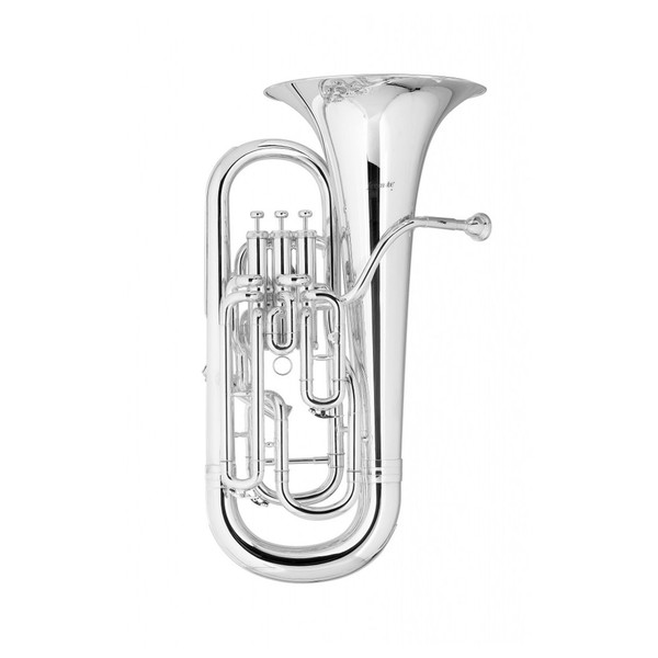 Levante by Stagg EP5451 4 Valve Euphonium, Silver Plate