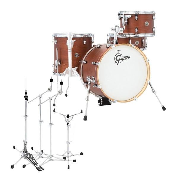 Gretsch Catalina Club Jazz 18'' w/Flat Base Hardware, Satin Walnut