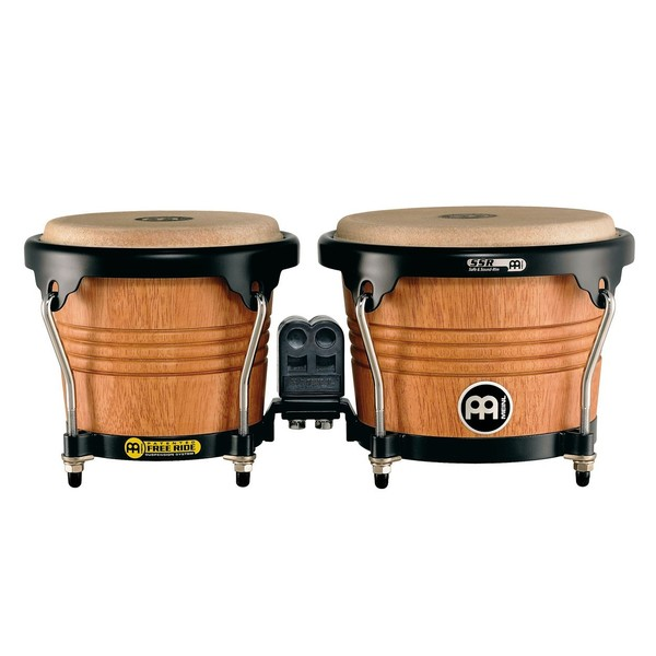 Meinl Free Ride Series Wood Bongo. Super Natural